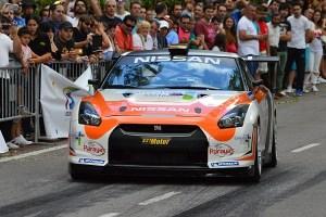 Triunfo del Nissan GT-R de AG Parayas en la Subida a La Bien Aparecida