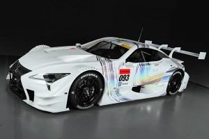 Lexus LC 500 el nuevo coche de carreras que participarán en el Super GT 2017