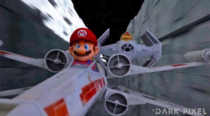 Mario Kart modo Star Wars