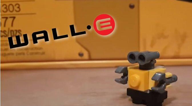 ¿Cómo hacer un mini Wall-e en Lego?