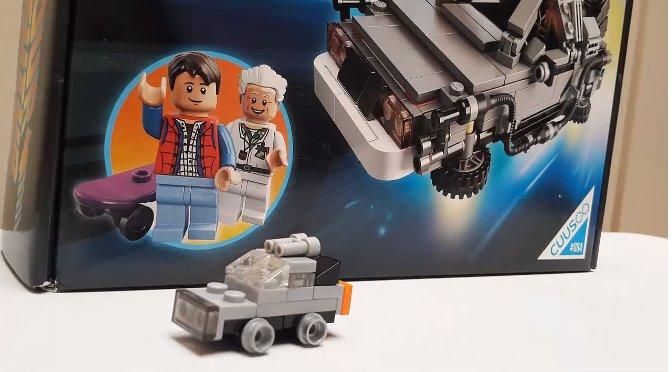¿Cómo hacer el Delorean en Lego?