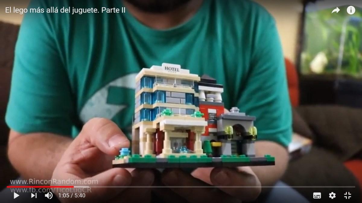 EL LEGO MÁS ALLÁ DEL JUGUETE (PARTE II)