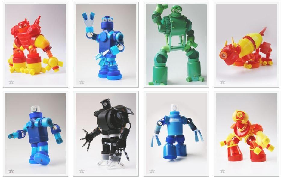 Reducir, Reciclar, Reutilizar y ROBOTS!