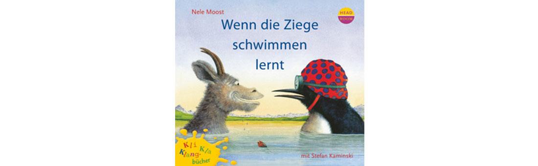 Wenn die Ziege schwimmen lernt