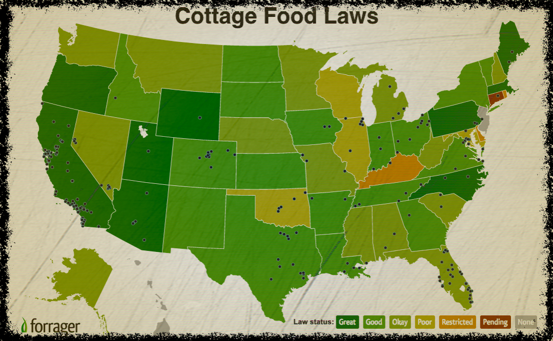 Cottage Food Map