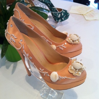 The 'Ursula' court shoes from the Charlotte Olympia spring/summer 2012 collection