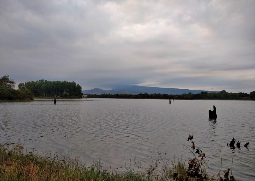 The Huay Siat Reservoir, Paksan