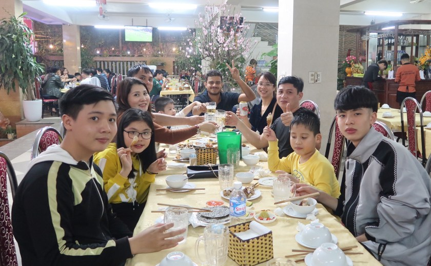 Family dinner in Hà Tĩnh