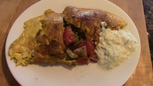 greek omelette still