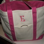 Monogrammed Tote Bag from Posy Lane