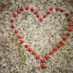 Romantic Heart form Love Seeds