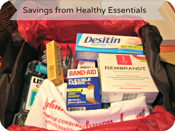 Savings from Healthy Essentials #Moms4JNJConsumer #ad