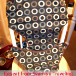Totseat from Svan is a Traveling Must Have!