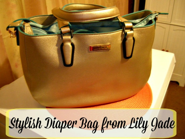 Stylish Diaper Bag from Lily Jade