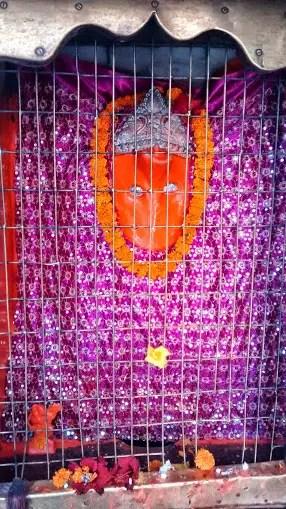 Lord Hanumana at Patan Devi