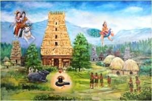 Lord Shiva and Kartikeya