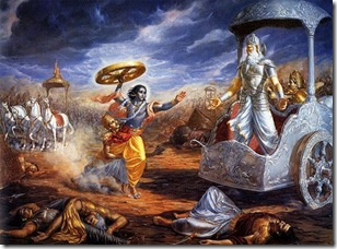 mahabharat kurukshetra war krishna indian mythology world mythology Seven little known facts from the Mahabharata (1)