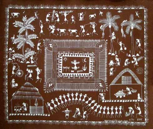 indian folk art warli home decorative ideas What is Folk Art