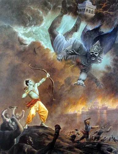 Rama and Ravana - The Ramayana