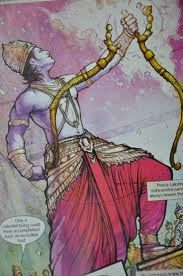 rama breaking bow shiva sita swayamvar The Ramayana story in pictures   Bal Kand (1)