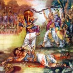 Duryodhana killing in Mahabharata