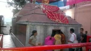 Mangla Gauri inner courtyard