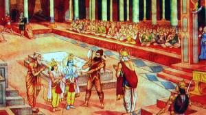 Lord Rama and Lord Parshurama
