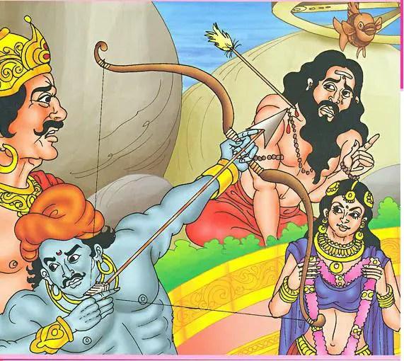 Draupadi swayamvara story