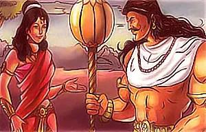 Hidimba and Bhima