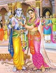 Rama and Sita wedding