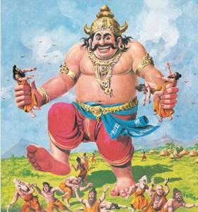 Kumbhkarna - The mighty brother of Ravana