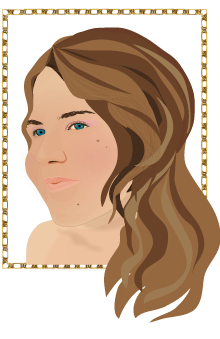 Terese-mortvik-self-portrait-vector