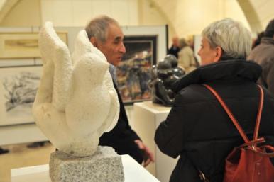 Salon de Versailles - sculptures - Dominique Rivaux
