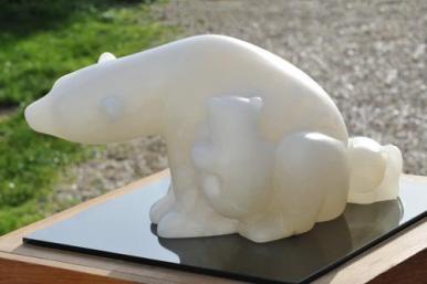 Ourse de Dominique Rivaux - sculpture