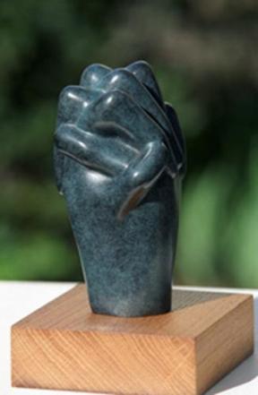mains - prière - Dominique Rivaux