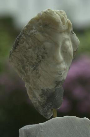muse mythologique - visage d'une femme