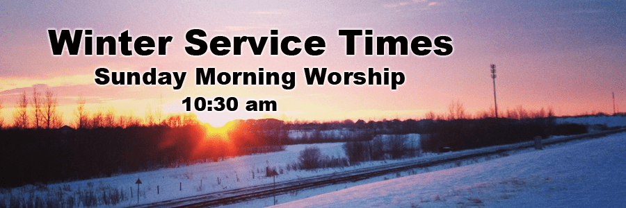 Winter Service Times