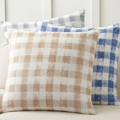 Rhett Print Pillow Cover