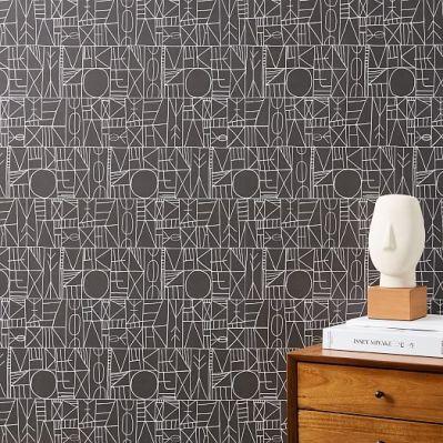 Mid-Century Wallpaper Panels | west elm