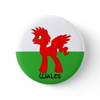 My Little Welsh Button button