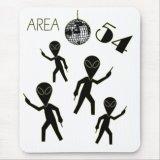 Alien Area 54 Mousepad