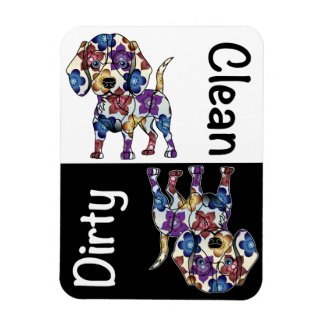 Beagle Dishwasher Magnet