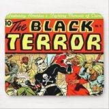 Black Terror #2 Mousepad