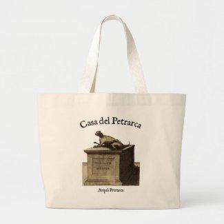 Casa del Petrarca- Petrarch's Cat Tote Bag