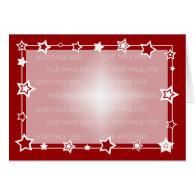 Christmas Card Border Template Horizontal