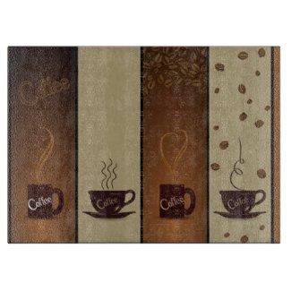 Coffee Lovers Cutting Board
