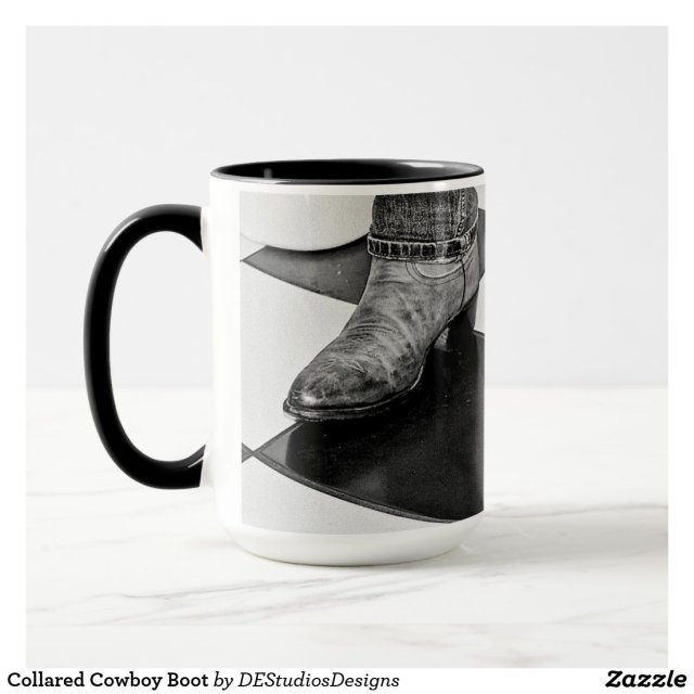 Collared Cowboy Boot