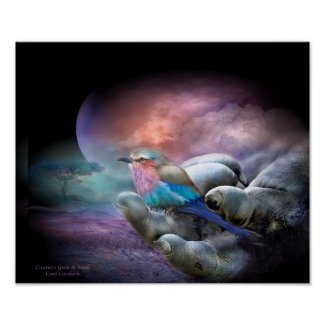 Creatures Great And Small Art Poster/Print
