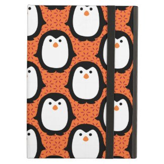 Cute Penguin Pattern Skin Cover For iPad Air