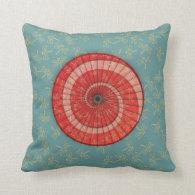 dragonfly dance pillow